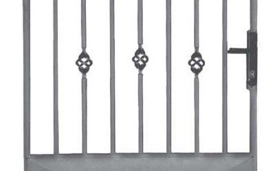 Cancelli in acciaio da giardino