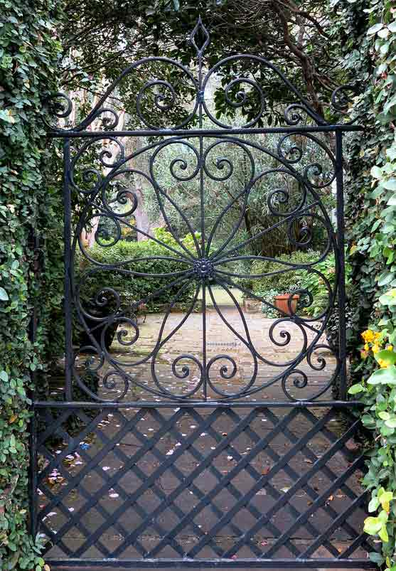 Top Cancelli in ferro battuto da giardino - arredoilgiardino.it DL37