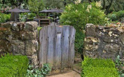 Cancelli da giardino in legno