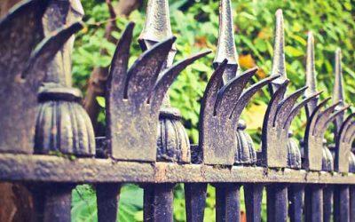 Recinzioni in ferro da giardino