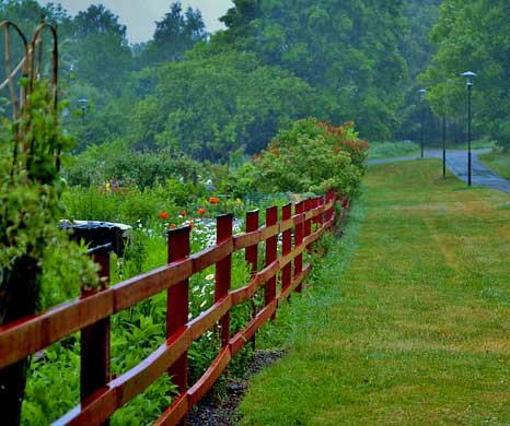 Recinzioni in legno per il tuo giardino