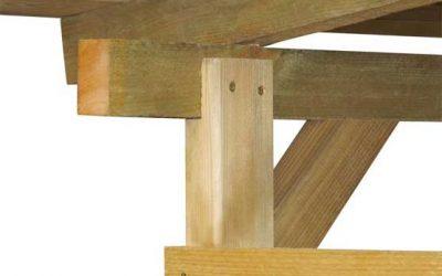Tettoie in legno per giardino