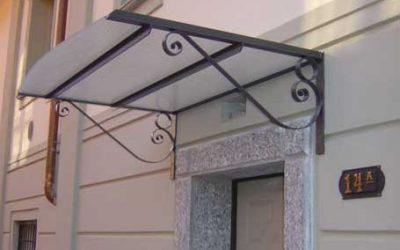 Tettoie in ferro e tettoie in alluminio da giardino